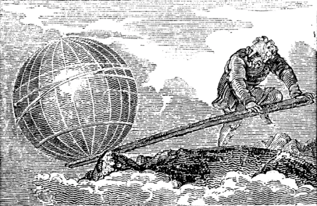 Archimedes' lever came with the promise that, if placed correctly, it would move the world. (Source: New York University nyu.edu)