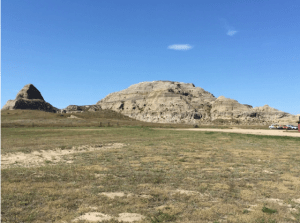The Crow Buttes.