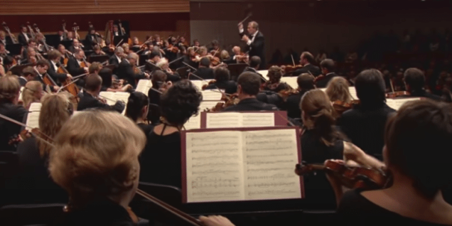 The Lucerne Festival Orchestra performs Mahler's Symphony No. 5 in 2004. (YouTube)