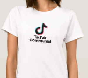 On TikTok, according to the New York Times, you can find powerful political statements and activist organizing. Like-minded users even create T-shirts about their online communities.