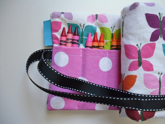 DIY Crayon Roll