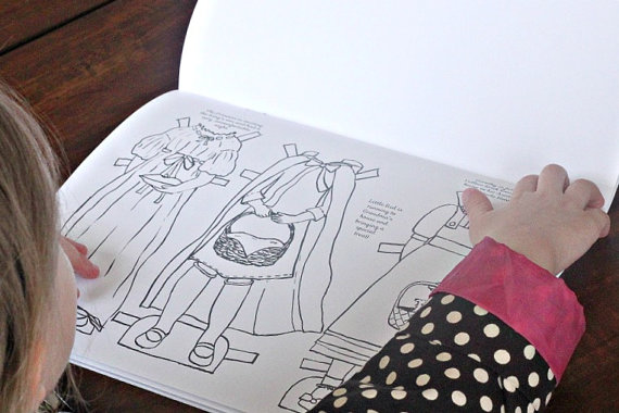 Printable Paper Doll Book