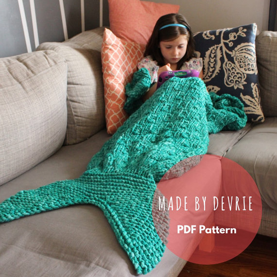 Knitted Mermaid Tail Pattern