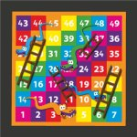 1-49 Snakes & Ladders