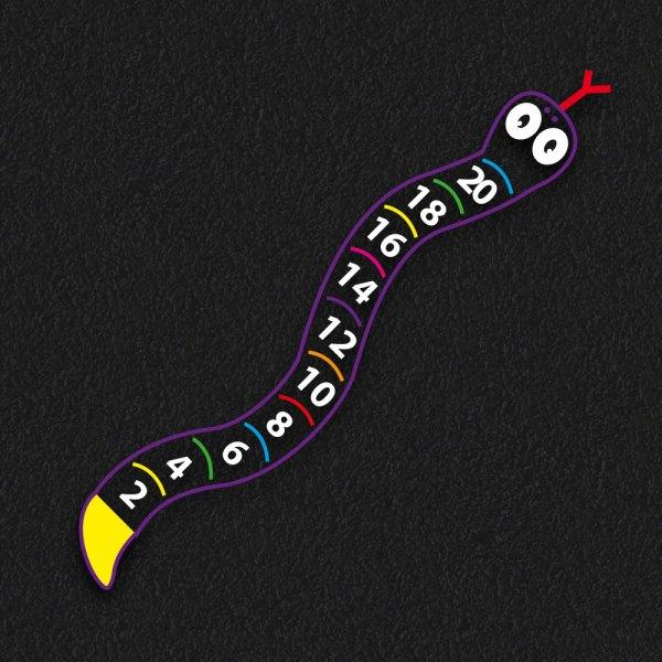 2 20 Snake - 2 - 20 Snake Outline