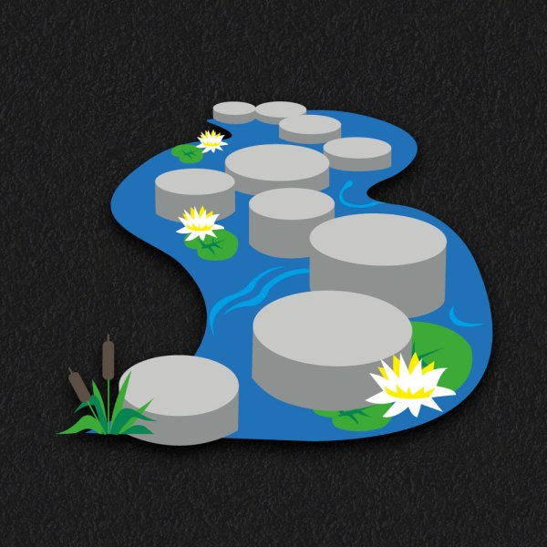 3D Stepping Stones 2 - 3D Stepping Stones