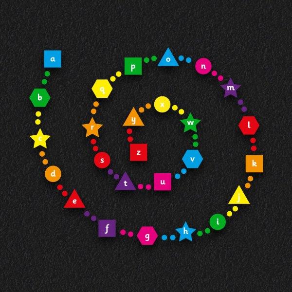Alpha Spiral 3 - Alphabet Spiral