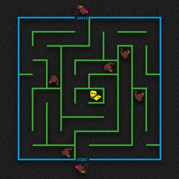 Cat and Mouse Maze - Cat & Mouse Maze