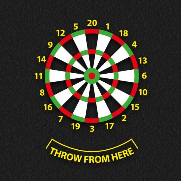 Dartboard 1 - Dartboard Target