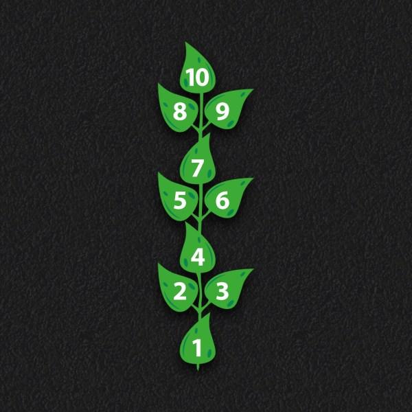 Leaf Hopscotch - Leaf Hopscotch
