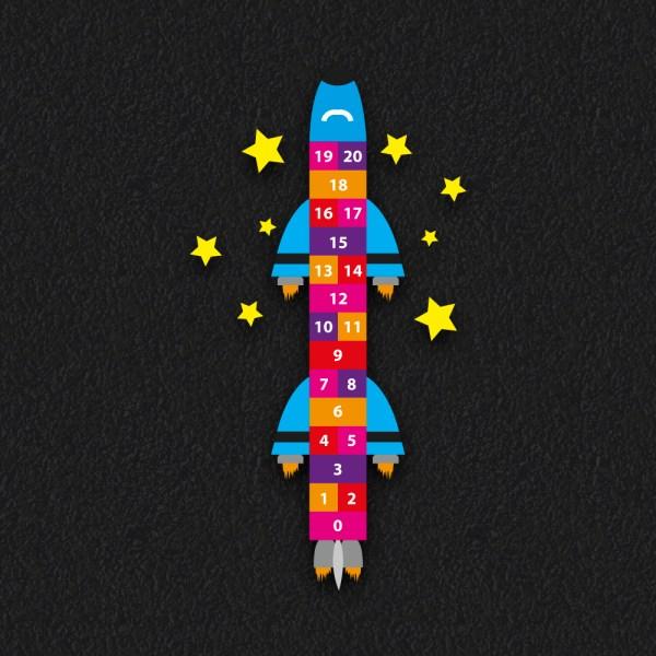 Rocket Hopscotch 4 1 20 OLD - Rocket Hopscotch 1 - 20