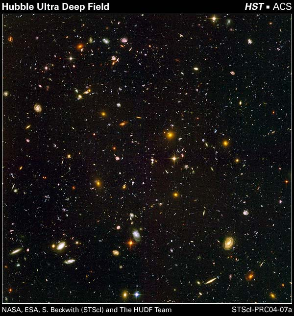 This is the Hubble Ultra Deep Space picture