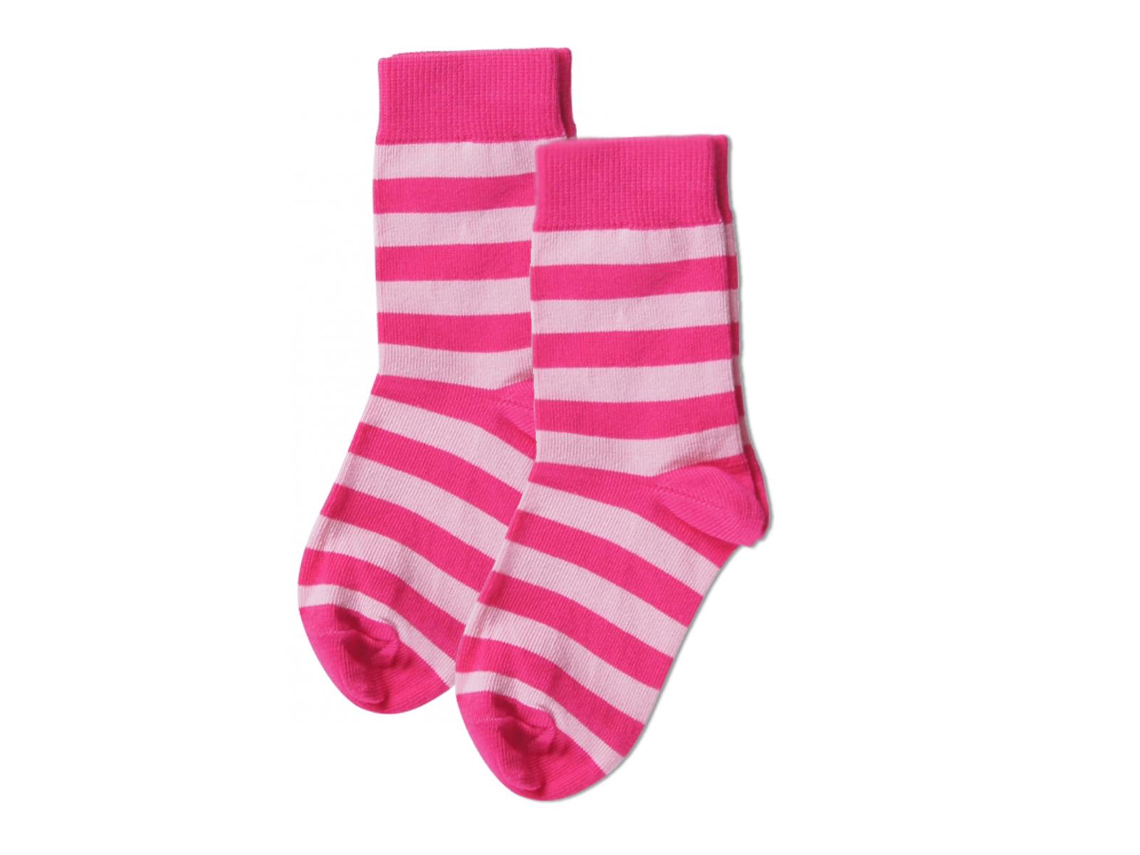 Maxomorra striped organic cotton unisex socks for children ...