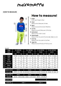 Maxomorra 2015 size chart babies