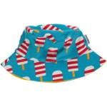 Maxomorra ice cream sun hat in organic cotton