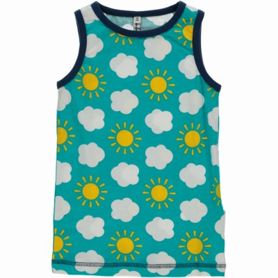 AU6A_SKY_M122_D1070 Maxomorra organic sleeveless vest