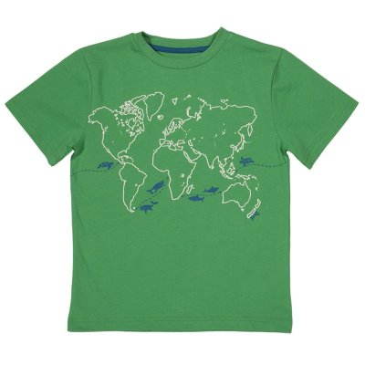 Migration map t-shirt by Kite