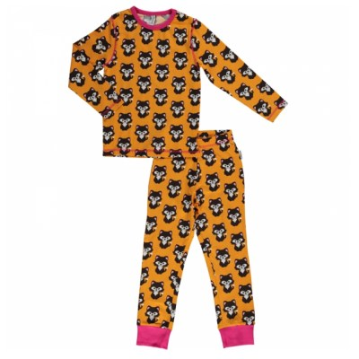 Maxomorra cat pyjamas organic cotton SP17