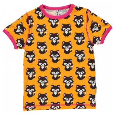 Maxomorra cat t-shirt organic cotton SP17