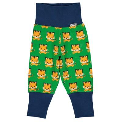 Maxomorra tiger baby trousers organic cotton SP17