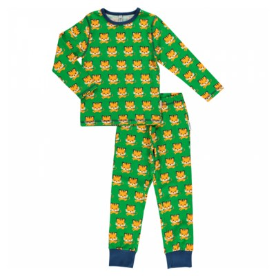 Maxomorra tiger pyjamas organic cotton SP17