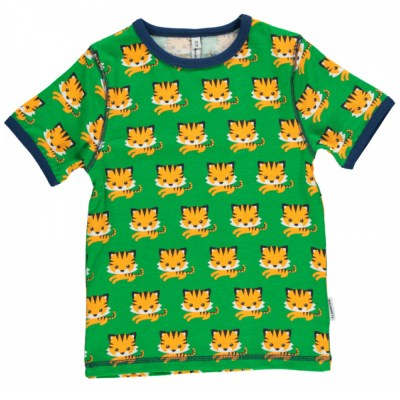 Maxomorra tiger t-shirt organic cotton SP17