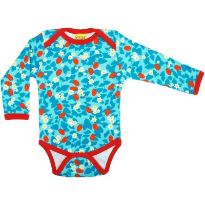 DUNS Sweden blue strawberry organic bodysuit Untitled-917