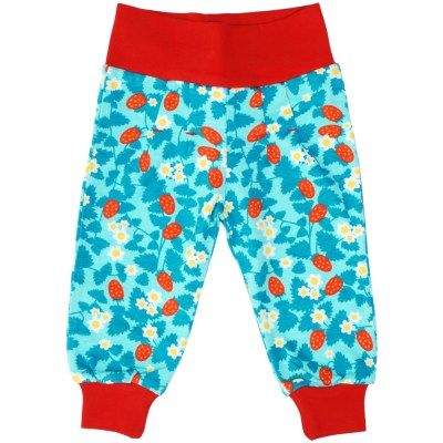 DUNS baby trousers blue strawberry organic Untitled-475