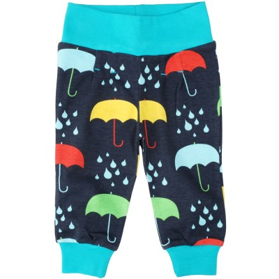 DUNS Sweden umbrella organic baby trousers