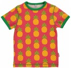 Maxomorra pineapple organic cotton short sleeve t-shirt