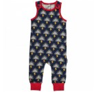 Lightning dungarees by Maxomorra in organic cotton