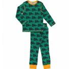 Maxomorra organic cotton tractor pyjamas