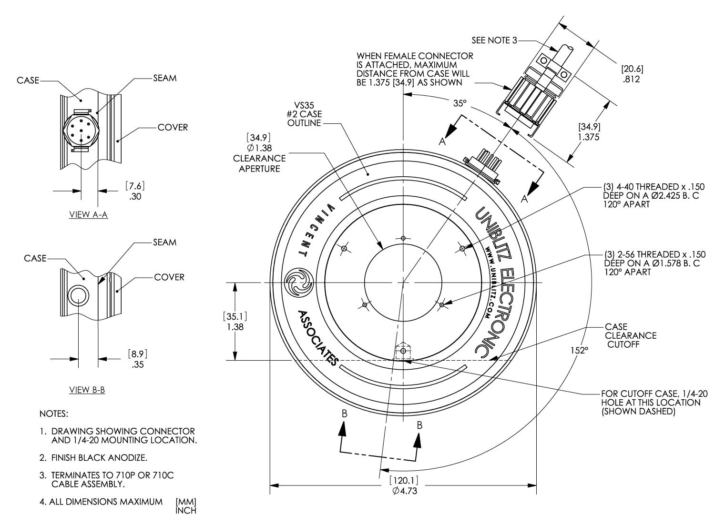 Vs35 35mm Optical Shutter
