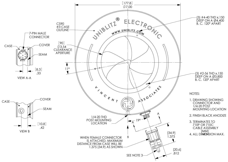 Cs90 90mm Optical Shutter