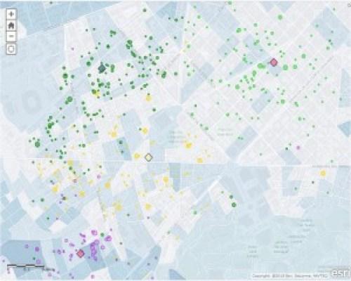 geolocalización de clientes en barcelona nivel portal