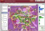 Geosmart banca, indicadores externos, renta media por hogar y locales