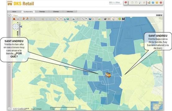 Geosmart retail mapa venta detalle