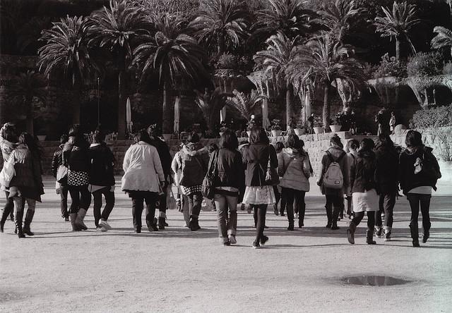 turistas donde se mueven