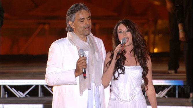 Sarah Brightman & Andrea Bocelli.
