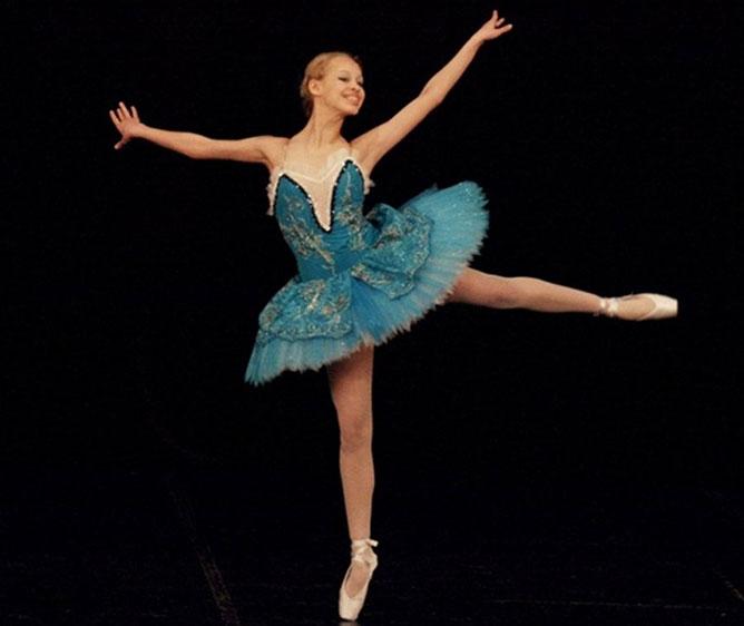 Balett táncos.