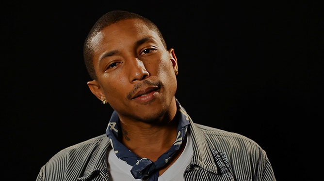 Pharrel Willimas.