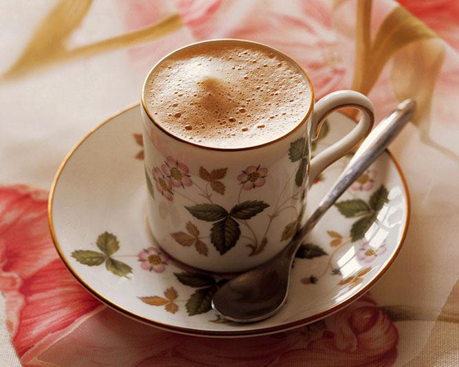 Reggeli kávé.