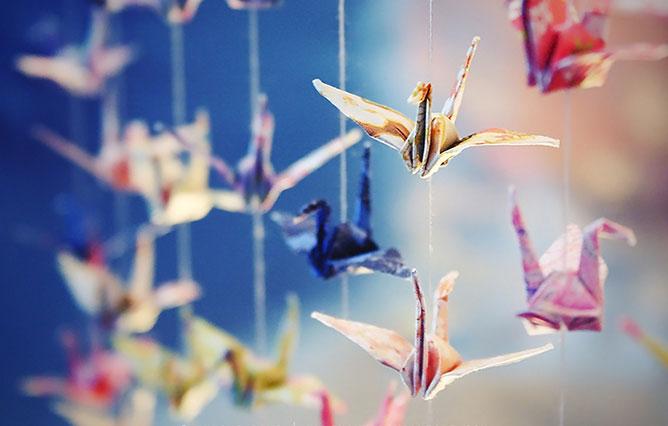 papír madarak.