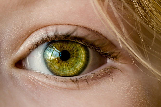 Emberi szem.