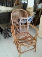 Rattan Arm Chair #02