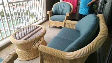 Quayside rattan sofa set