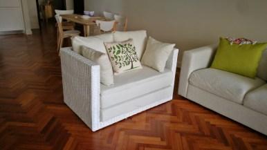 Quayside condo rattan sofa set