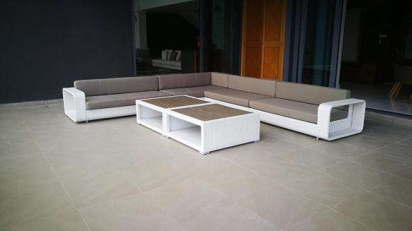 The Penthouse outdoor sofa