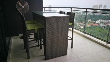#BC-90 Bar Chair + 5feet table