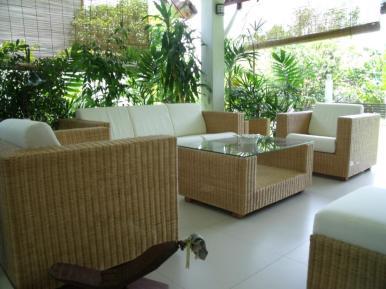 Dynasty Wicker Sofa Set